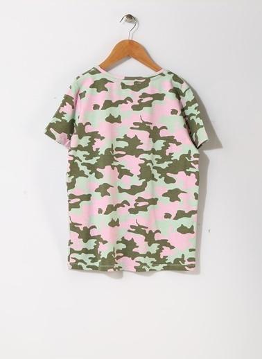 Pink&Orange Tişört Haki